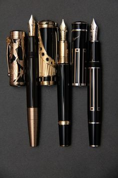 Quill And Ink, Luxury Pens, Fine Pens, Pen Collection, Best Pens, Calligraphy Pens, Writing Pens, Coin Ring, Fountain Pen Ink
