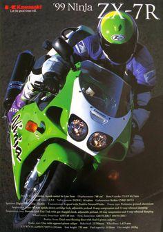 Kawasaki Zx7r, Kawasaki Ninja, Kawasaki Motorcycles, Cars And Motorcycles, Custom Trucks, Custom Bikes, Racing Bike, Motorcycle Manufacturers, Japanese Motorcycle