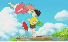 Ponyo sulla scogliera (Miyazaki)