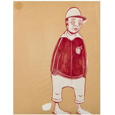 Shop paintings and other wall décor and wall art from the world's best furniture dealers. Barry Mcgee, Modern Drawing, Zine, Gouache, Art Boards, Art Inspo, New Art, Modern Decor, Folk Art