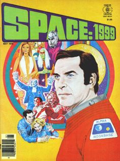 Space 1999 Magazine #4: May 1976, NM, Cover artwork by Gray Morrow; interior artwork by Gray Morrow and Vicente Alcazar; also stills from the TV series.