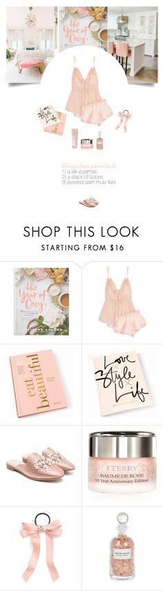 """""""Untitled #345"""" by soledestate ❤ liked on Polyvore featuring Macmillan, Three Graces, By Terry, Cara, Mullein & Sparrow, AERIN and staycation"""
