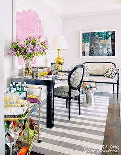 How To Fake A Well Traveled Home: incorporate animal prints Animal prints, faux taxidermy, and even faux fur elements conjure thoughts of far flung places and nature—and both are sure to add a touch of travel-chic to any space (well-traveled or not).