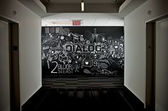 Dialog's Lobby Mural.