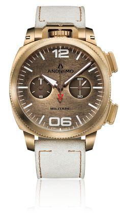 Bronze-coloured dial | Anonimo