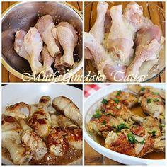 KIRMA TAVUK KEBABI ( OSMANLI MUTFAĞINDAN) | Mutfak Ve Tatlar Turkish Recipes, Italian Recipes, Italian Chicken Dishes, Turkish Kitchen, Plat Simple, Fish And Meat, Iftar, Chicken Recipes, Food And Drink