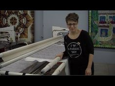 ▶ How to use a Longarm Quilting Machine - YouTube