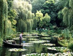 At work in Monet's garden, Giverny | Flickr - Photo Sharing!