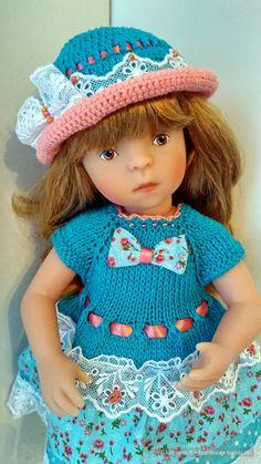 Рыжее солнышко - долгожданная Наташа. / Куклы Sylvia Natterer, Minouche и другие. Kathe Kruse и Petitcollin / Бэйбики. Куклы фото. Одежда для кукол