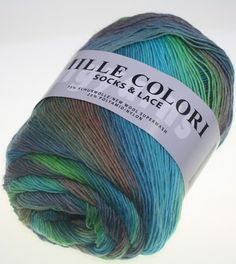 lang yarns mille colori socks lace fb 16 tausendschn - Laine Lang Mille Colori Baby