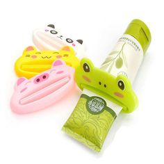 Cheap cleanser plus, Buy Quality cleanser gel directly from China cleanser exfoliator Suppliers: New Cute Lovely Cartoon Animal Pattern Creative Toothpaste Facial Cream Face Cleanser Dispenser Squee Cute Cartoon Animals, Cute Animals, Dental, Cheap Bathroom Accessories, Toothpaste Squeezer, Simple Cartoon, Bathroom Essentials, Face Cleanser, Bathroom Sets