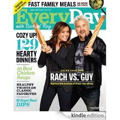 Rachel Ray - what an inspiration!  Her recipes are mouthwatering.