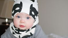 Beanie and infinity scarf by JaydenandOlivia | Baby Model | Photography