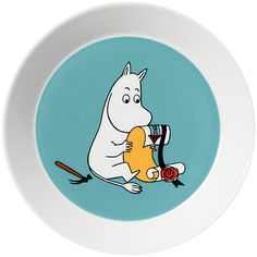 Buy Finland Arabia Moomin Plate Online at johnlewis.com