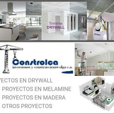 Sistema Drywall, Shopping, Wood, Home, Accessories, Blue Prints