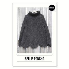 Bellisponcho til voksne (DK) PDF-opskrift | Lutter Idyl