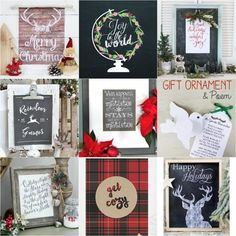 Today's Tutes & Tips Not to Miss showcases a round-up of 17 DIY Christmas Ideas that are easy and inexpensive to replicate. If you haven't started decorating for Christmas yet, these ladies have you covered. Enjoy! Click here to see all 17 tutorials...
