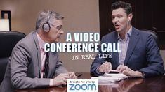 A video conference call in real life https://www.youtube.com/watch?v=JMOOG7rWTPg&feature=youtu.be&utm_content=buffer360bc&utm_medium=social&utm_source=linkedin.com&utm_campaign=buffer