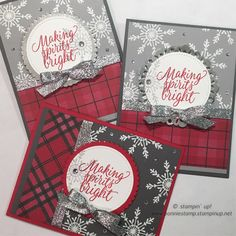 The Tin of Tags stamp set (#142180) is currently 25% off through 11/30! I love how the snow flake from the set looks embossed on both the smoky slate and basic gray card stock. I paired the card stock with the warmth & cheer DSP stack. (#141991) ZOf course, I finished with the glitter ribbon. (#142015) winter sky is making my natural lighting for pictures a bit tricky. ❄️ www.bonniestamp.stampinup.net