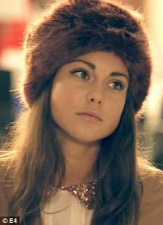 Louise Thompson's natural look