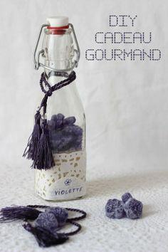 Cadeau gourmand à la violette