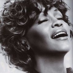 Whitney Houston. Good-bye too soon to the wonderful talent.