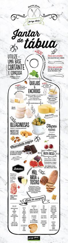 """Jantar de tábua: basta colocar os ingredientes prontos a comer sobre a tábua e começar a """"picar"""""""