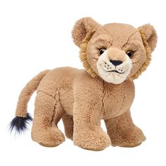 This Disney The Lion King Young Simba soft toy is destined to be a mighty king with his tufted tail and soft fur. Shop now to add Young Simba to your Pride. Young Simba, Lion Pride, Lion King Simba, How To Start Knitting, Build A Bear, Pet Shop, Pet Toys, Farm Animals, Teddy Bear