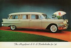 1958 Cadillac Knickerbocker Hearse by S&S