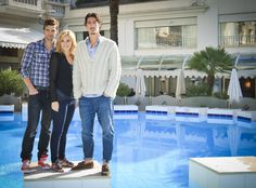 "Haven S1 Cast: Emily Rose ""Audrey,"" Eric Balfour ""Duke,"" Lucas Bryant ""Nathan"""