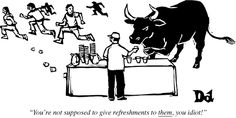 San Fermín Cartoons from the Issue of July 9th & 16th, 2012 : The New Yorker