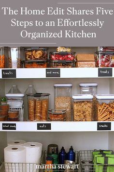 Recipe Organization, Kitchen Organization, Organization Hacks, Organized Kitchen, Organizing Life, Organizing Ideas, Food Network Star, Food Network Recipes, Loft Kitchen