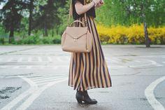Po mojej stronie lustra - blog modowy : Stripes and flowers.