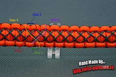 Stitched Solomon / Kobra Armband und Tutorial | Swiss Paracord