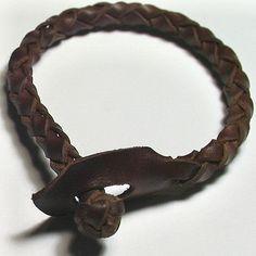 Bracelet Wristband Cuff Mens Celtic Round Spanish by NiceKnots, $9.00