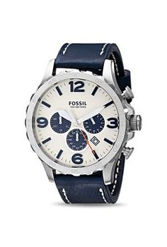 1acdc93d34e3 Fossil JR1480 Nate Analog Watch for Men Fossil