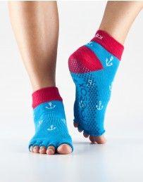 Half Toe Ankle Grip Socks