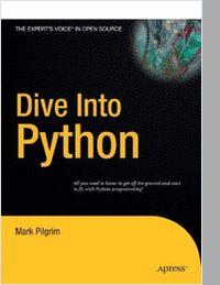 Dive Into Python--Free 328 Page eBook