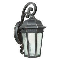 Yosemite Home Decor Minarets Lake FL1618 Fluorescent Outdoor Wall Sconce - FL1618MDWB