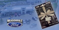 #MeadowvaleFord wants to help you pay off your holiday bills. Enter NOW for your chance to win a $250 Pre-Paid Visa Gift Card.