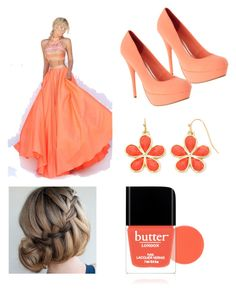 """""""Untitled #107"""" by ravekait ❤ liked on Polyvore featuring Sherri Hill, Liz Claiborne and Butter London"""