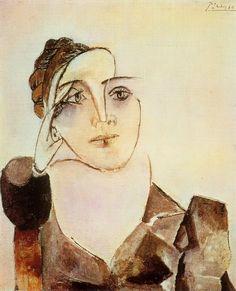 "Pablo Picasso -- ""Buste de Dora Maar 2""  -- 1936."