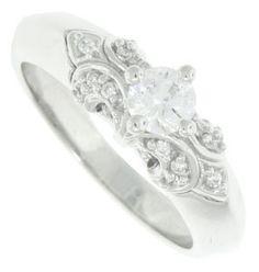 Fleur De Lis, even on a wedding ring. Kappa devotion.