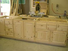 how to paint unfinished cabinets unfinished cabinets kitchens and laundry rooms. beautiful ideas. Home Design Ideas