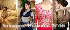 Sparking Best Neckline Dresses for Pakistani Girls