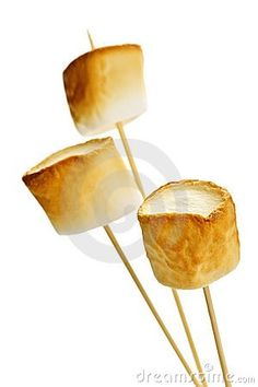 Toasted marshmallows.  But be careful they can burn your tongue !