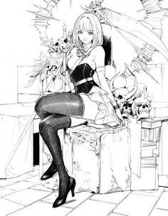 #Fille #Dessin subpop #Manga