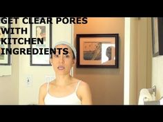 Home Made Facial Cleanser – Clear Your Pores With Kitchen Ingredients Skin Care Regimen, Skin Care Tips, Skin Tips, Face Yoga Method, Clear Pores, Clear Skin, Nose Pores, Cream For Oily Skin, Homemade Skin Care