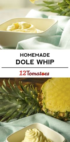 4-Ingredient Homemade Dole Whip