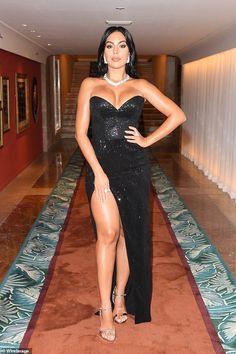 Festival Looks, Film Festival, Cristiano Ronaldo Girlfriend, Prom Dresses, Formal Dresses, Skin Tight, Put On, Girlfriends, Gowns